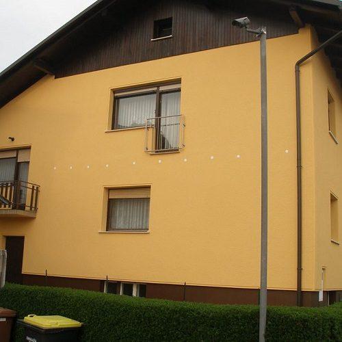 Izdelava in barvanje fasad, Slikopleskarstvo Matjaž Gogala s.p.