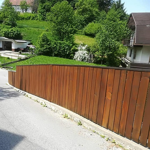 Barvanje lesenih ograj, Slikopleskarstvo Matjaž Gogala s.p.